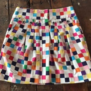 Super cute and bright Anthropologie skirt